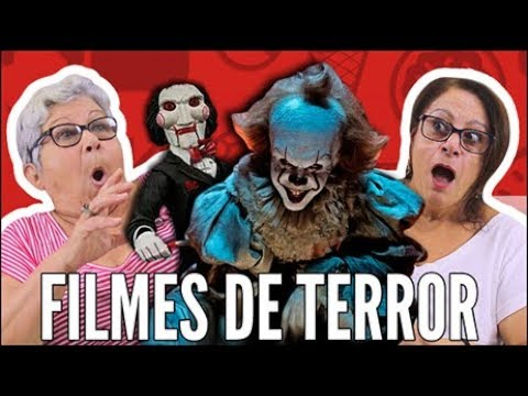 SERÁ QUE OS IDOSOS CONHECEM PERSONAGENS DE FILMES DE TERROR?