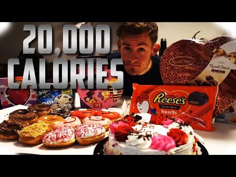 VALENTINES DAY  DESSERT OFF   20,000 CALORIES