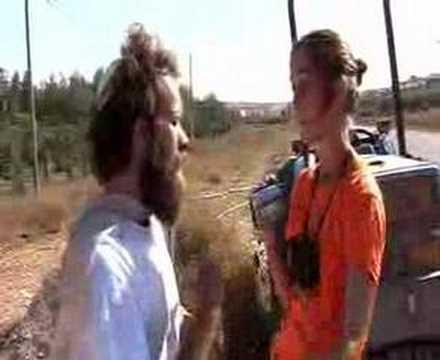 Israeli Settler Aggresion In Susya Land Stealing Operation