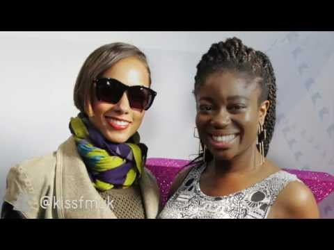 Alicia Keys Chats To Clara At Kiss FM UK