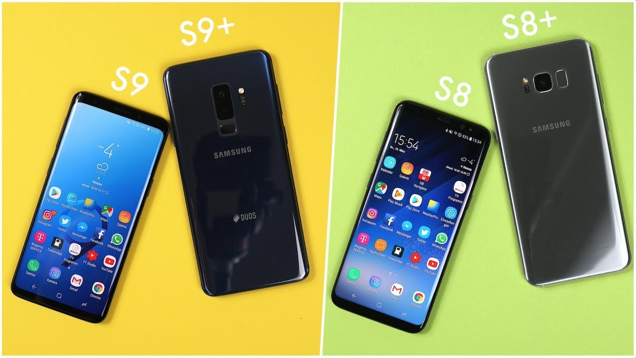 Samsung S9 Vs S9