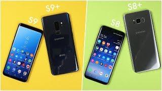 Samsung Galaxy S9 & S9+ vs. Galaxy S8 & S8+ (Deutsch) | SwagTa…