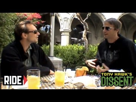 Christian Slater and Tony Hawk discuss Gleaming the Cube - Dissent