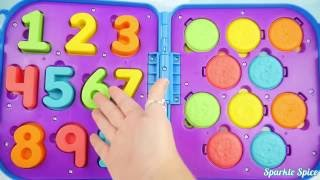 Learn 123s with Best Kid Learning Video Compilation for Colors and Counting