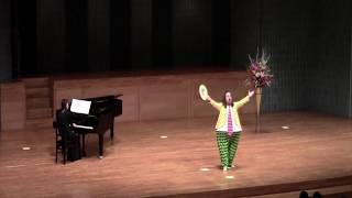 昨年12月24日に福島市音楽堂で行われた「mfa音楽祭」での講師演奏で...