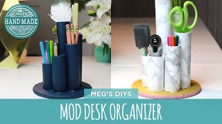 Dorm Decor: Desk Organizer- Hgtv Handmade