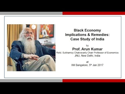 Black Economy Implications & Remedies: Case Study of India