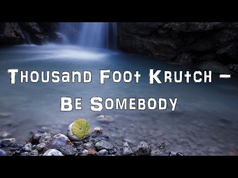 Thousand Foot Krutch - Be Somebody [Acoustic Cover.Lyrics.Karaoke]