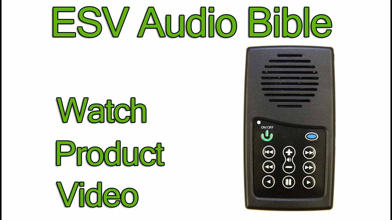 Audio Bible ESV Old and New Testament EASIEST Bible player