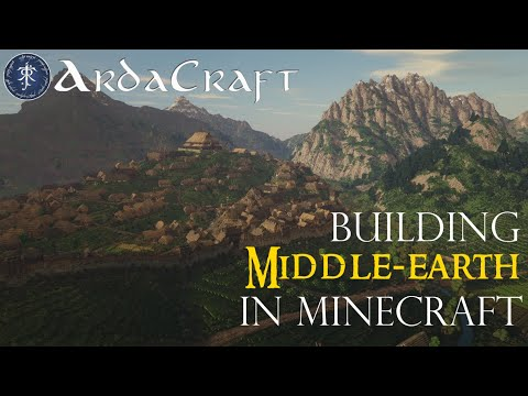 Lord of the Rings in Minecraft - J.R.R. Tolkien's world brought to life - ArdaCraft Official Trailer