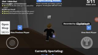 ROBLOX HIDE & SEEK (WITH EAN MY BROTHER,)