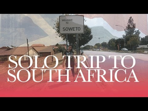 Solo Travel to South Africa [African American in Africa] | #SmartBrownGirl | Jouelzy
