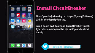 Install CircuitBreaker ⚡️ Tweak iOS 11 - iCleaner Alternative - Electra  Jailbreak Management Utility