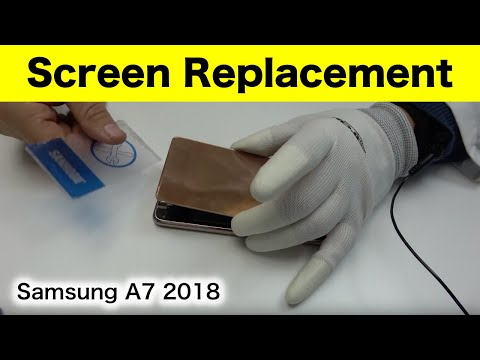 Samsung A7 2018 Screen Replacement