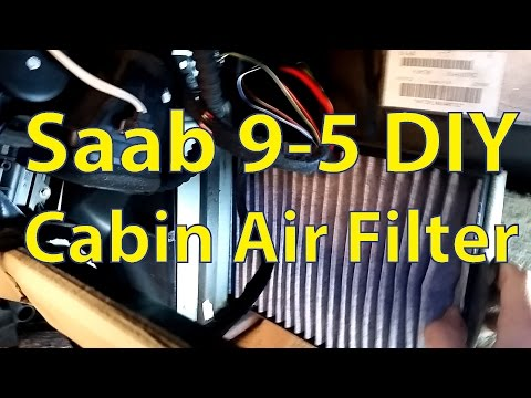 Saab 9-5 DIY: Changing the Cabin Air Filter – Trionic Seven