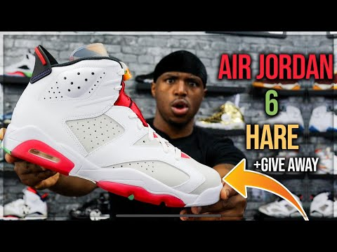 EARLY LOOK Air Jordan 6 Hare Review & On Foot