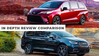 2021 Toyota Sienna vs 2021 Chrysler Pacifica – Family Car Comparison In-Depth Review