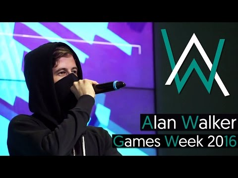 Alan Walker - Live @ Games Week Milan 2016 [BEST QUALITY] (Full Set) 60 fps