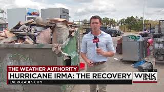 Irma Damage in Everglades City