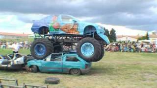 TORNADO STUNTMAN & MONSTERTRUCK SHOW Teil 2