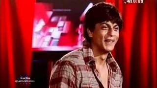 Shahrukh Khan talks about being competitive on India Questions 2006 interview - part 4