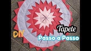 Tapete REDONDO – PASSO A PASSO