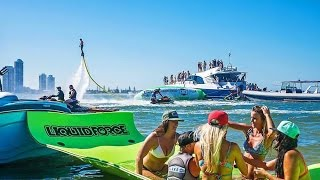 LKI Blob Party!  80ft Super Yacht