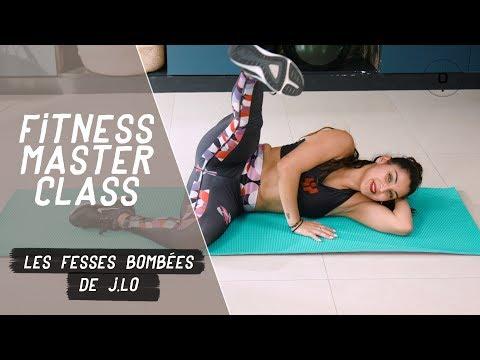 Fitness Master Class - Les fesses bombées de J.LO