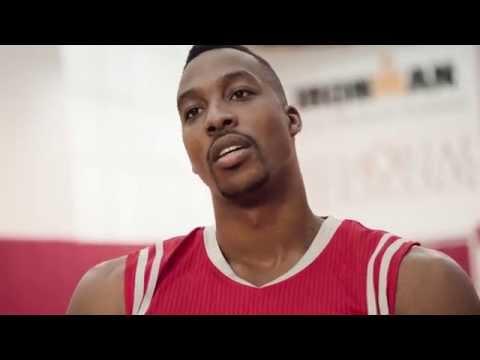The New NBA Swingman Jerseys - featuring Dwight Howard