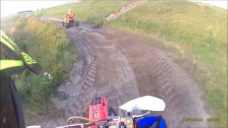 Dirtbikes vs Quad | Race | cr125 | trx400