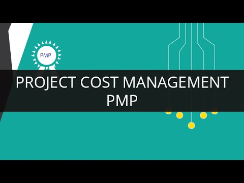Project Cost Management PMP | What is Cost Management | PMP Training Video