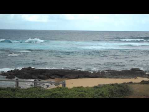 Norfolk Island Trip day 1 Cemetery Bay