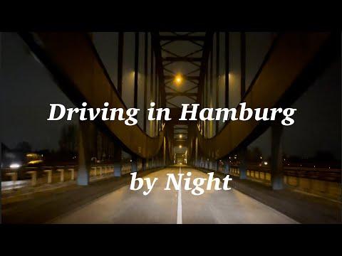 Driving in Hamburg by Night