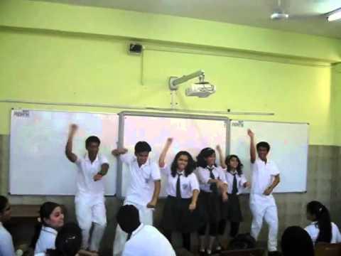 DPS RK Puram  XII-B  Gangnam Style