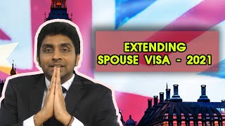 EXTENDING SPOUSE VISA UK – 2021