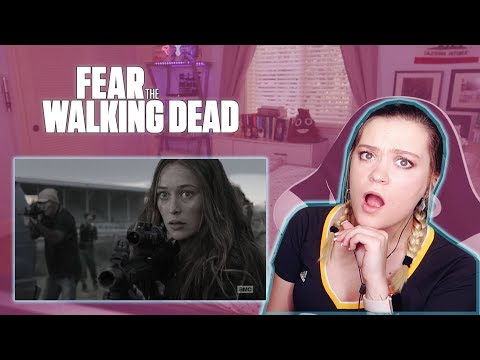 "Fear The Walking Dead Season 4 Episode 6 ""Just in Case"" REACTION!"