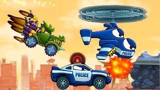 Машина ест машину 2 серия Car Eats Car 3!Мультик игра для детей про машинки #игровой мультфильм 2018