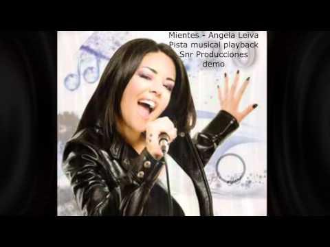 Angela Leiva - Mientes - pista playback karaoke