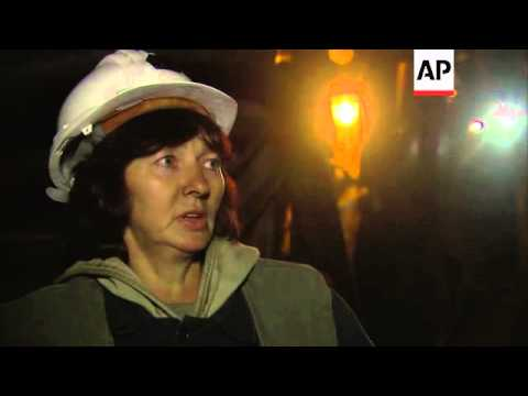 Going underground - Bosnia's last female coal miners