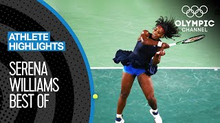 Best Serena Williams Points at the Olympics | Athlete Highlights