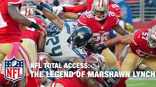 The Legend of Marshawn Lynch   NFL Total Access