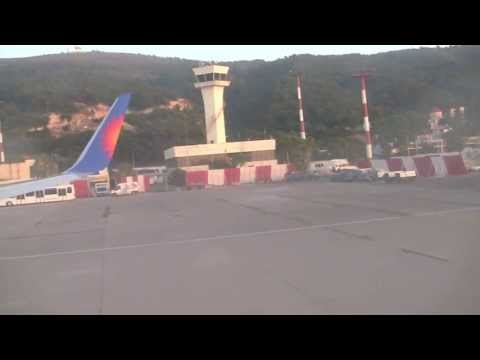 Landing at Rhodes Diagoras Airport (RHO), Greece - 10th July, 2013