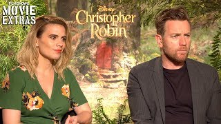 CHRISTOPHER ROBIN | Ewan McGregor & Hayley Atwell talk about their experience making the movie