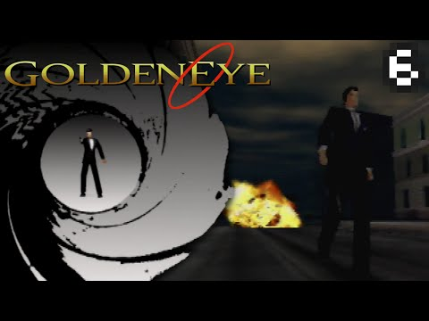 #06: Streets, Depot, & Train | Secret Agent [ Goldeneye 007— N64 ]