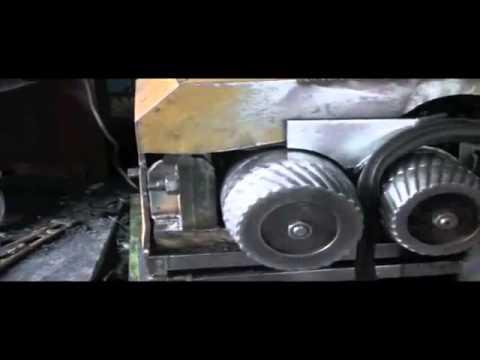 Оборудование для переработки шин в резиновую крошку (Китай)