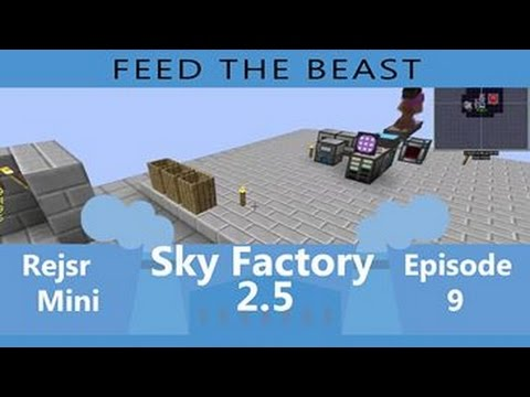FTB - SKY FACTORY [CZ/SK] Thermal Expansion S02E09