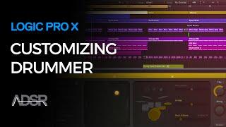 Logic Pro X - Using and Customizing Drummer