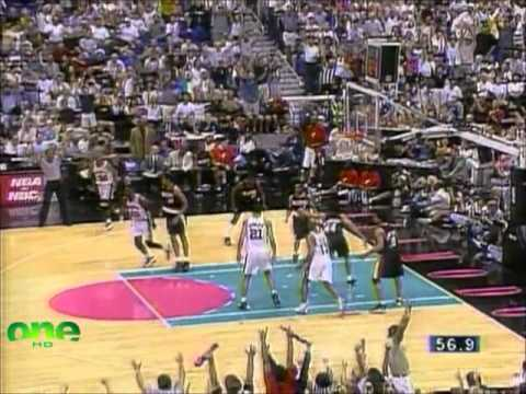 Spurs Memorial Day Miracle Run vs. Trailblazers (1999 WCF Game 2)