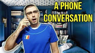 ASKING FOR ADVICE ON THE PHONE | Learn Romanian Conversation #5