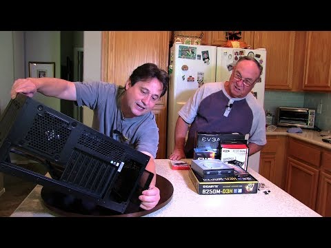 Building a computer with my dad - Part 2
